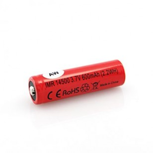 AW IMR14500 3.7V 600mAh Battery
