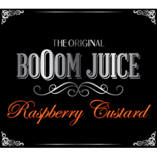 BoOom Juice Raspberry custard TPD