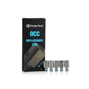5pcs Kangertech Subtank Ni-200 Organic Cotton Coil (OCC)